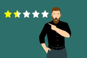 Respond to customer negative reviews to maintain your business reputation.